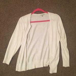 White halogen sweater